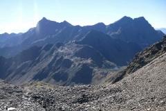 Gartlsee, Alkuser Rotspitze und Hoher Prijakt