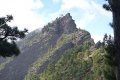 Rückseite der Punta de los Roques (2.091 m)