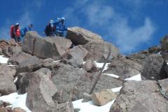 Abstieg Klettersteig